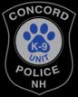 Concord Police K9